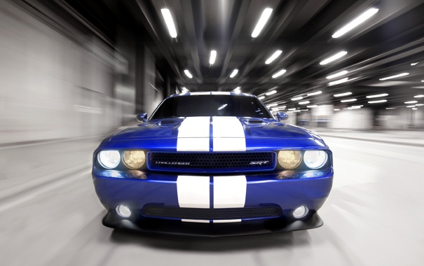 Фото обои Dodge, srt, challenger