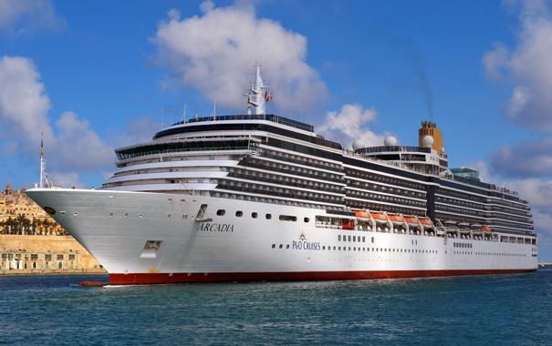 Фото обои фото, корабль, круизный лайнер, Arcadia