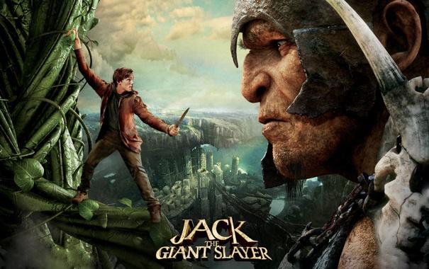 Фото обои великан, Джек, Jack the Giant Slayer, бобовый стебель