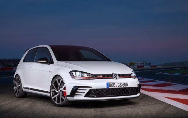 Фото обои Volkswagen, гольф, Golf, GTI, 2015, фольксаген