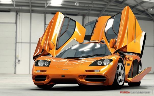 Фото обои машина, Игра, двери, Forza Motorsport 4