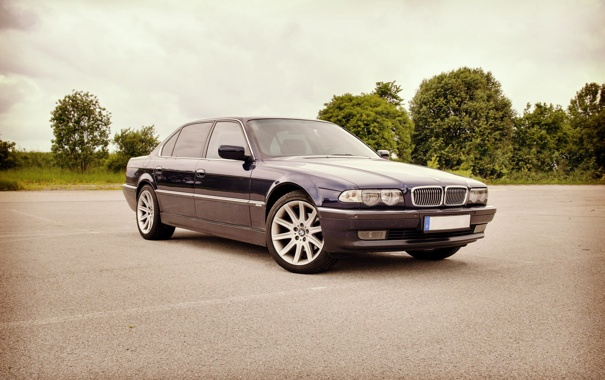 Фото обои BMW, Бумер, БМВ, E38, Bimmer, 750il