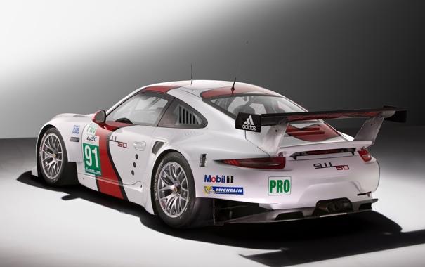 Фото обои car, машина, 911, Porsche, спойлер, порше, race
