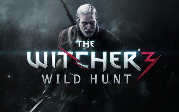 Фото обои меч, борода, Геральт, The Witcher 3: Wild Hunt, Ведьмак 3: Дикая охота, Анджей Сапковский, Andrzej ...