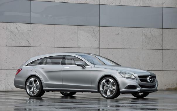 Фото обои машина, car, Mercedes-Benz CLS Shooting Break Concept