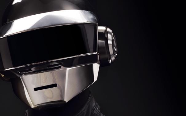 Фото обои шлем, thomas bangalter, daft punk
