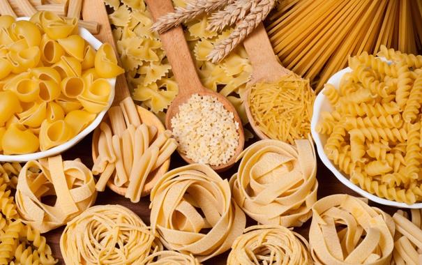 Фото обои еда, спагетти, макароны, продукты, мучные изделия