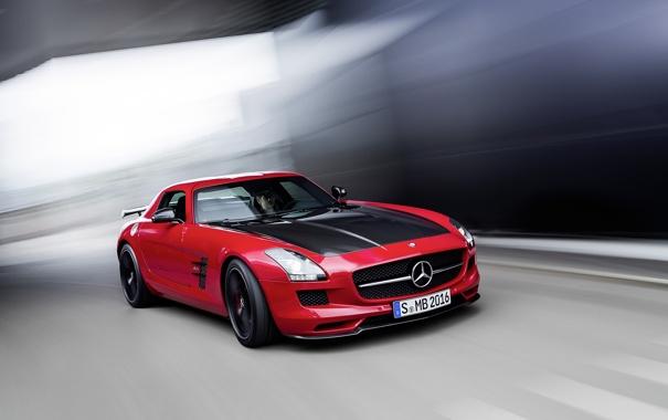 Фото обои Mercedes-Benz, red, AMG, SLS, C197, Final Edition