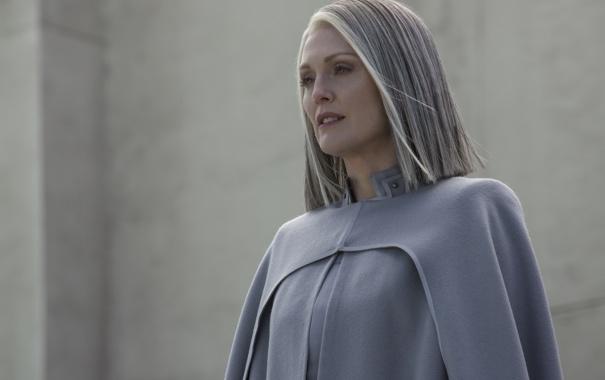 Фото обои фантастика, кадр, Джулианна Мур, Julianne Moore, President Alma Coin, The Hunger Games: Mockingjay - Part ...