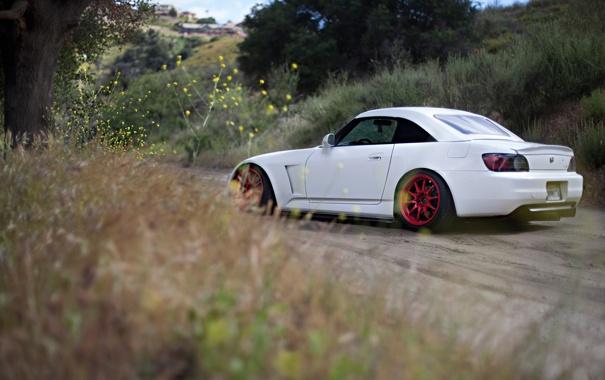 Фото обои природа, тюнинг, хонда, honda s2000