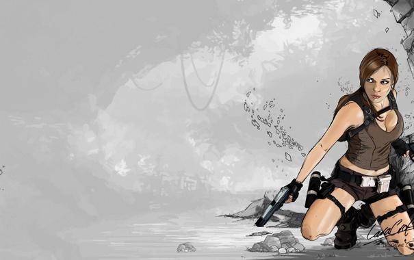 Игра девушка с пистолетом фото