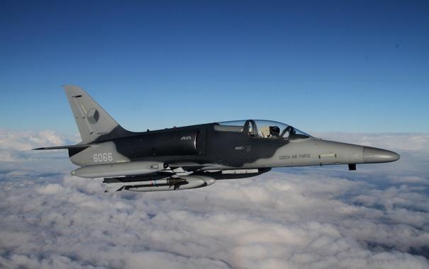 Фото обои самолёт, учебно-боевой, Alca, Aero L-159