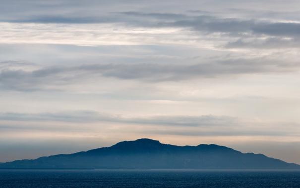 Фото обои туман, гора, Anglesey, Mountain in the Mist, Holyhead Mountain