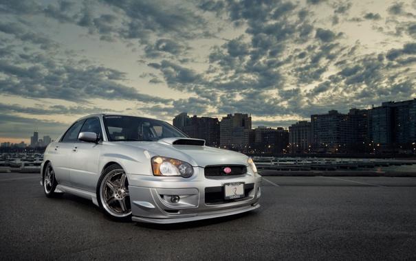 Subaru impreza wrx sti обои для рабочего стола 13