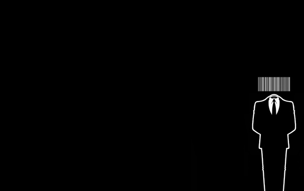Фото обои код, Hitman, анонимус, черный фон. костюм