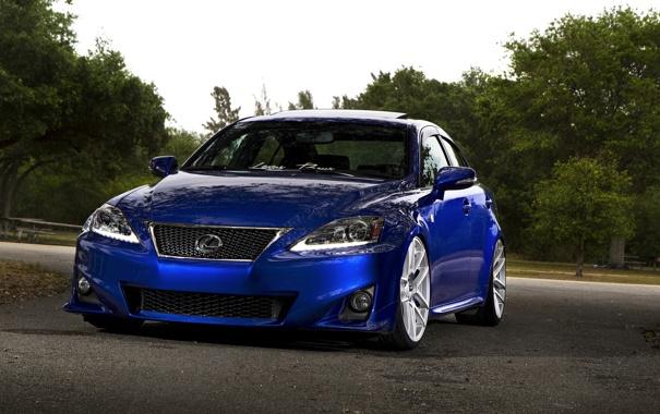 Фото обои Lexus, blue, F Sport, IS250