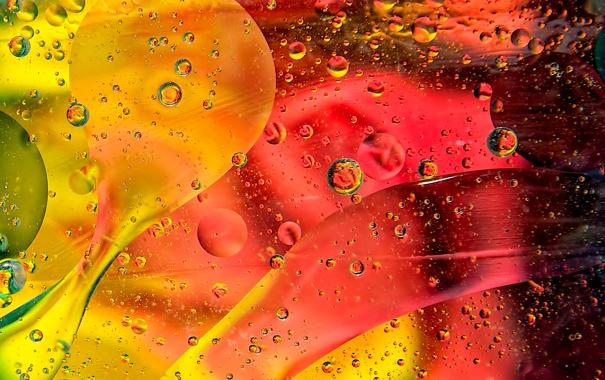Фото обои свет, линии, пузырьки, цвет