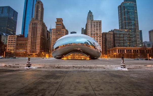 Фото обои Chicago, Illinois, Millennium, Park