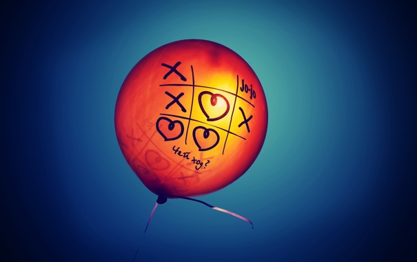 Фото обои лучи, шарик, день, сердечко, крестик, солнца, Настроения