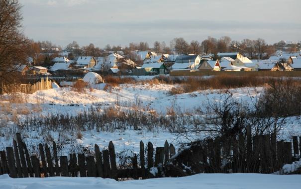 Фото обои зима, солнце, снег, деревья, пейзаж, природа, настроение