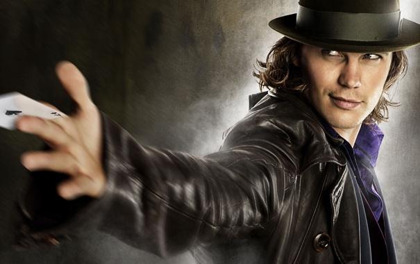 Фото обои рука, шляпа, куртка, мужчина, Козырные тузы
