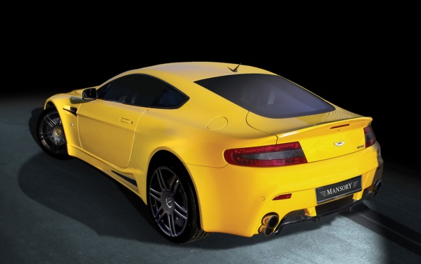 Фото обои Aston Martin, Vantage