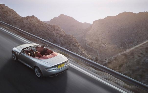 Фото обои купе, пейзаж, 1AML, дорога, горы, кабриолет