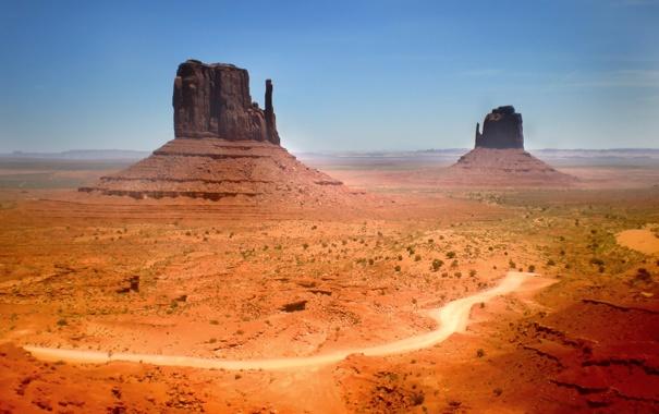 Фото обои beautiful, Arizona, Desert