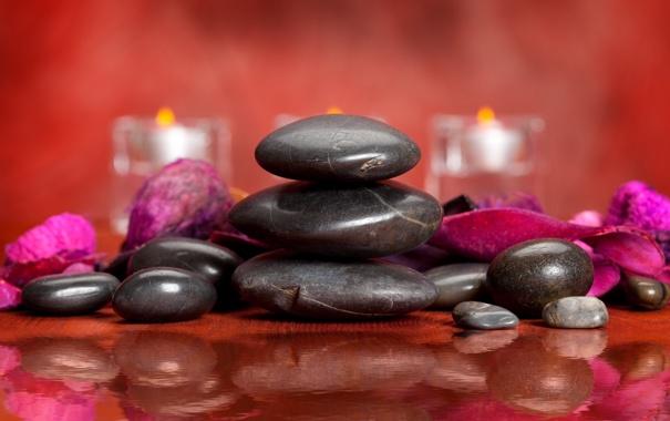 Фото обои Spa, спа, спа камни, Spa stones