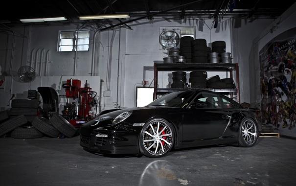 Фото обои гараж, инструмент, запчасти