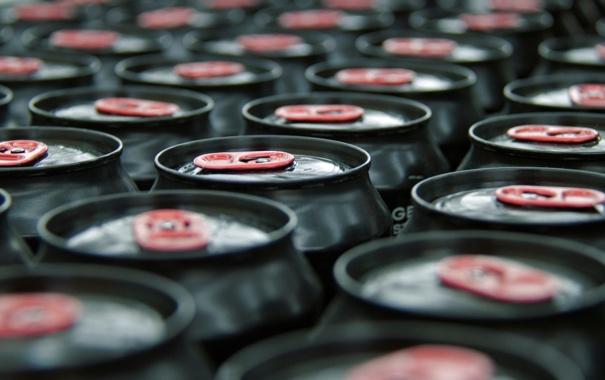 Фото обои colors, quantity, aluminum, cans of drinks