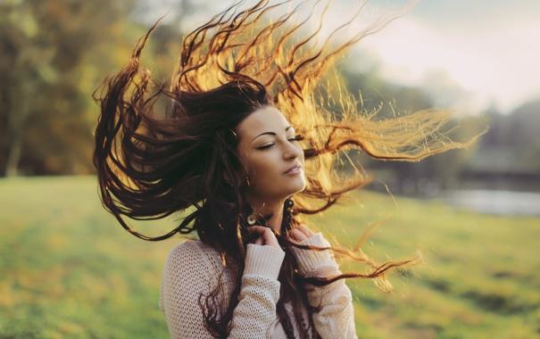 Картинки как волосы длинные - 8181