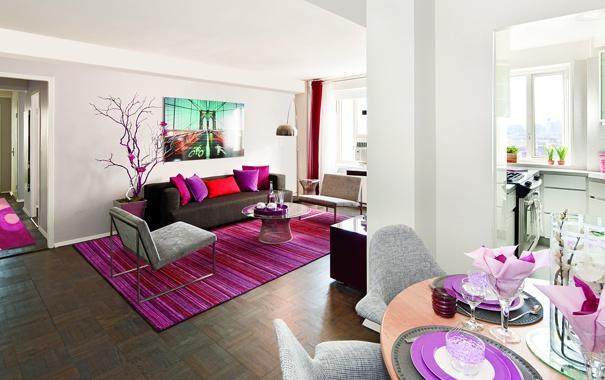 Фото обои дизайн, new york city, apartment, интерьер, стиль