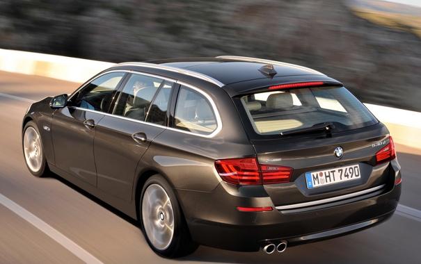 Фото обои car, машина, BMW, вид сзади, speed, xDrive, Touring