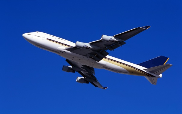 Фото обои небо, полет, двигатель, крылья