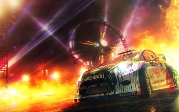 Фото обои машина, тачка, dirt, ford, dirt showdown