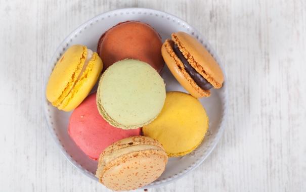 Фото обои еда, печенье, сладости, десерт, macaroons, макарони