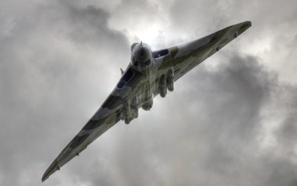 Фото обои оружие, самолёт, Vulcan