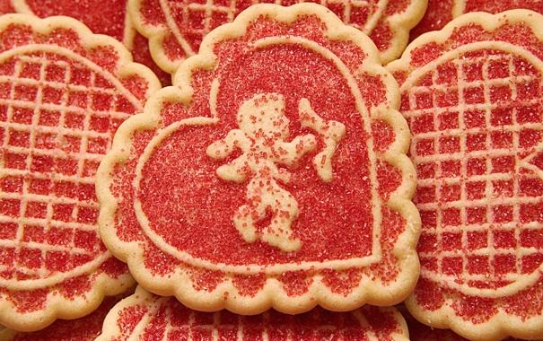 Фото обои еда, печенье, ангел