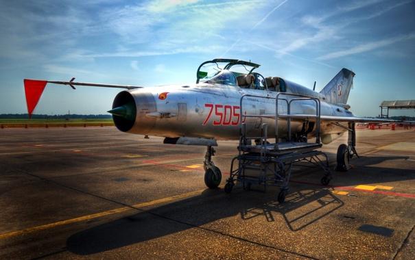Фото обои оружие, самолёт, MiG-21