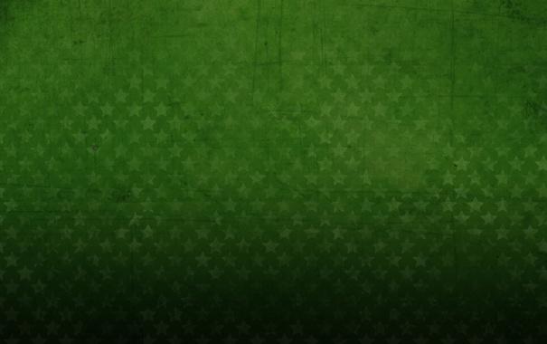Фото обои стиль, фон, green, обои, звёзды, зелёный, текстуры