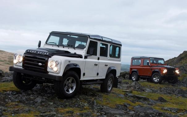Фото обои Land Rover, Автомобиль, Внедорожник, Defender