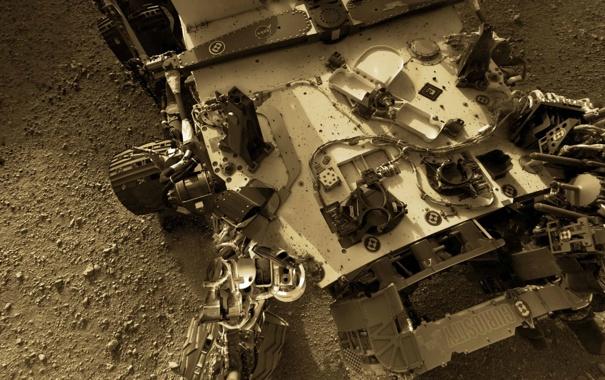 Фото обои NASA, Mars, Curiosity