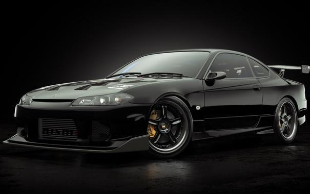 Фото обои Nissan, Studio, SilviaS15