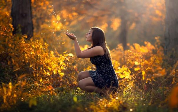 Картинки на рабочий девушки на природе