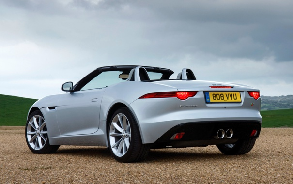 Фото обои авто, Jaguar, ягуар, задок, F-Type