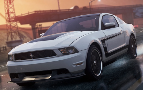 Фото обои game, 2012, race, Need for speed, Most wanted, Ford Mustang Boss 302