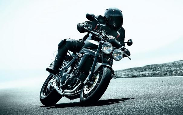 Фото обои дорога, скорость, мотоцикл