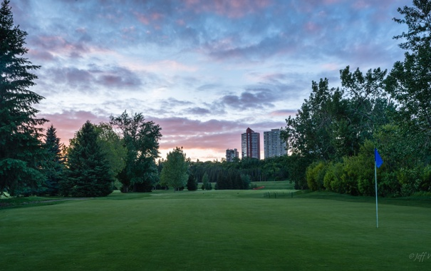 Фото обои гольф, Green, Golf, Edmonton, Эдмонтон