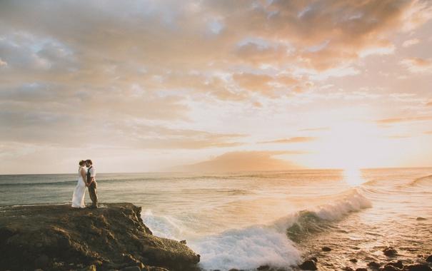 Фото обои Гавайи, Мауи, Josh, Maui, Carolyn